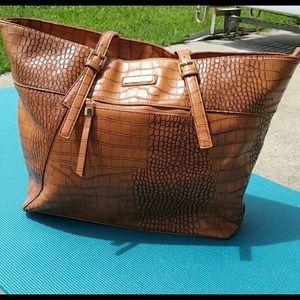 "Adrienne Vittadini laptop bag fits 13-14"" laptop."